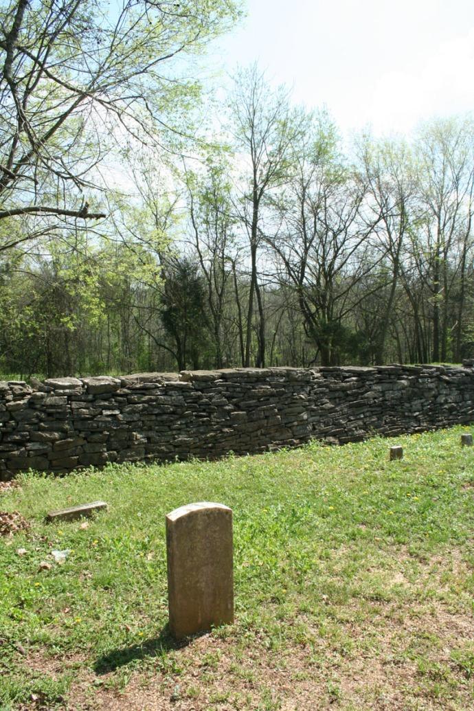 Villines Cemetery, Thomas Kilgore corner