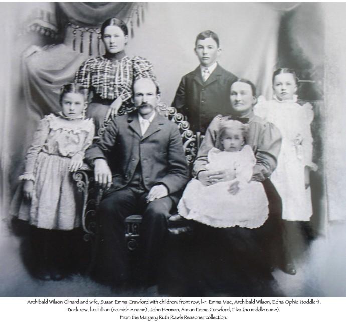 Archibald, Susan Emma Crawford family