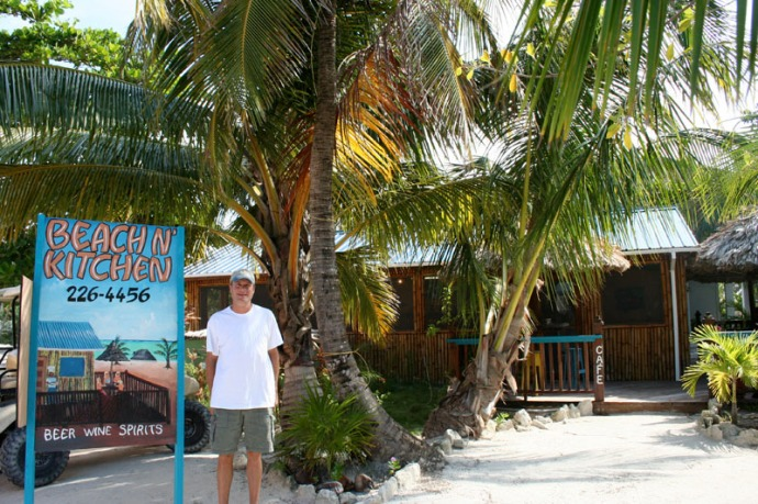 Belize, Beach n' Kitchen and Wally