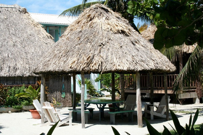 Belize outdoor palapa