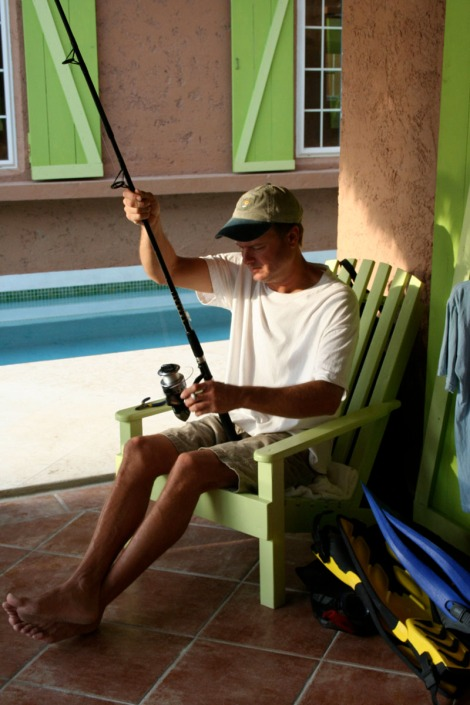 Belize, Wally rigging rod