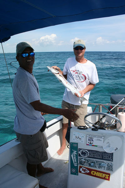 Belize, wally with Tulu