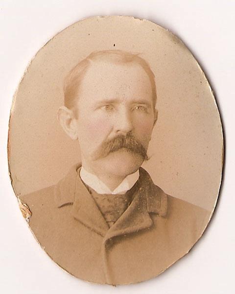 Boyd Clinard, oval portrait