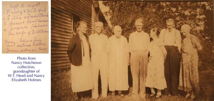 Head, Clinard, 2 Holmes couples, Nancy Hutcheson pics