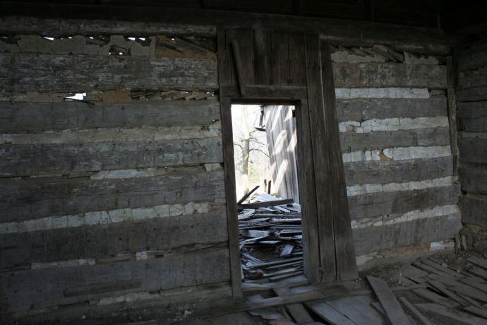 huffman cabin interior 1