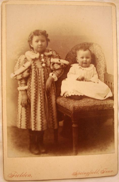 Jane & Elizabeth Head 1897