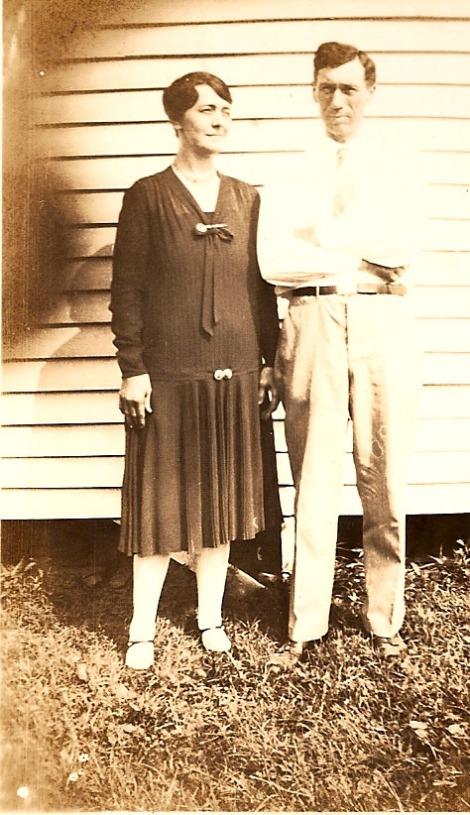 Jesse and Lula Mai Head, 50s?