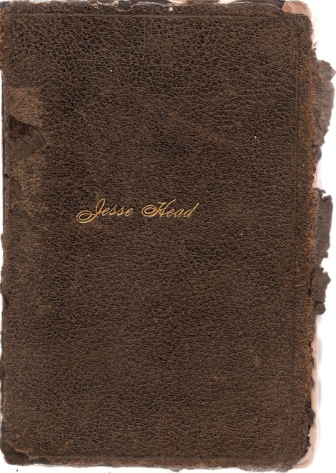 Jesse Head's bible cover
