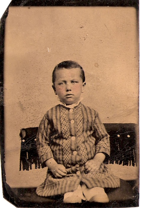 Jesse James Head, 2 yrs?