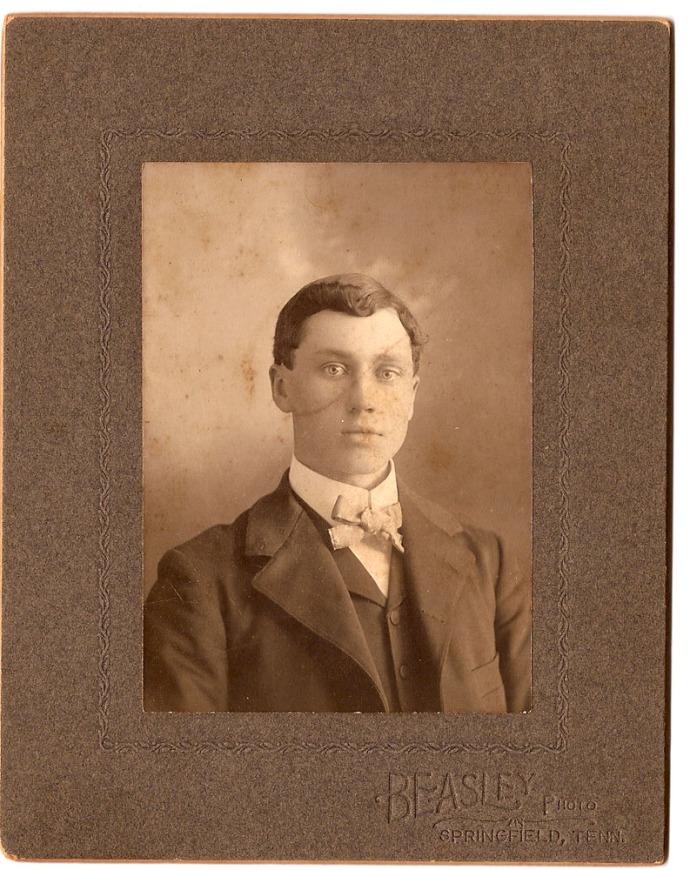 Jesse James Head portrait, young