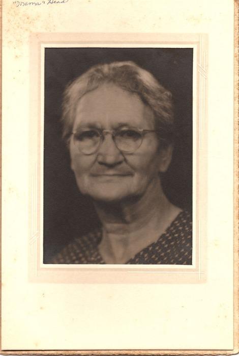 """Mama Head"" portrait, older"