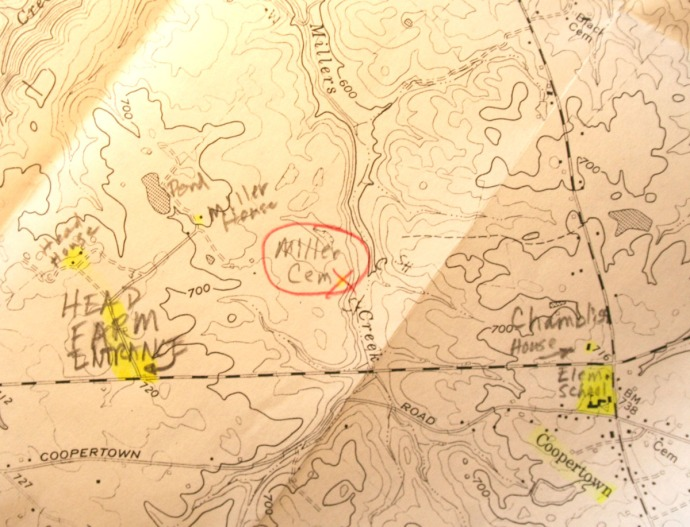 Miller:Head topo map, coopertown