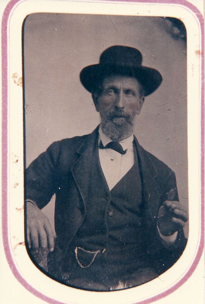 Rev. James Howard Crawford pic w:hat, from Bonnie Reasoner Mills