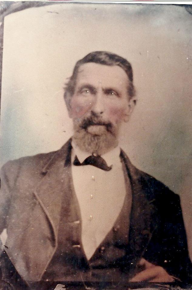 Rev. James Howard Crawford, portraitfrom Bonnie Reasoner Mills