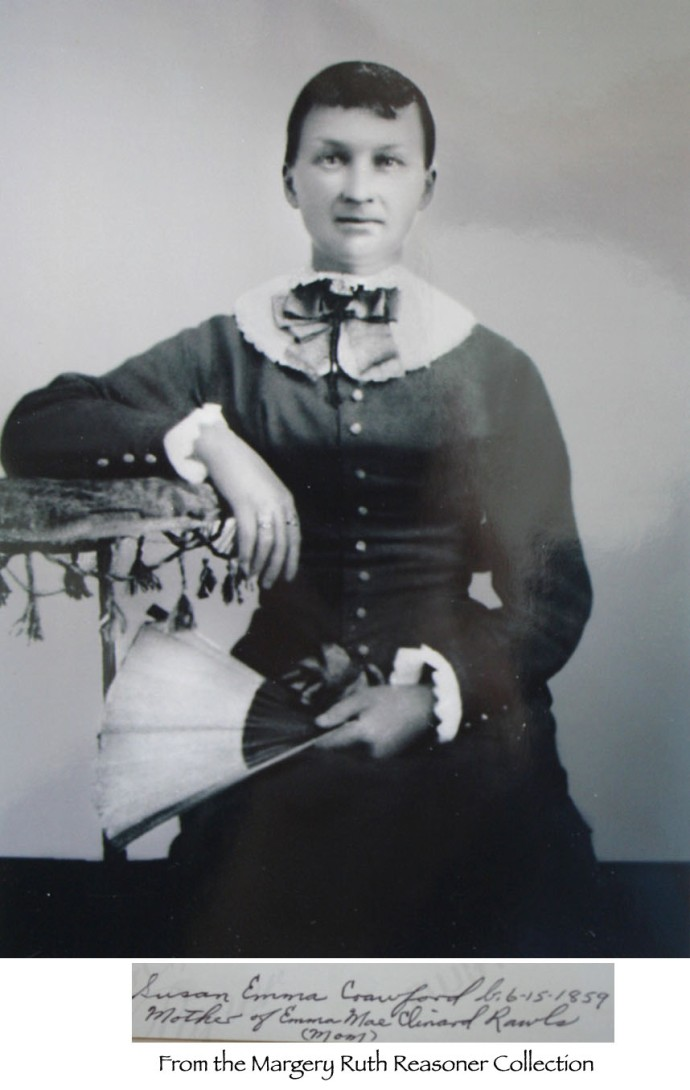 Susan Emma Crawford, fan pic