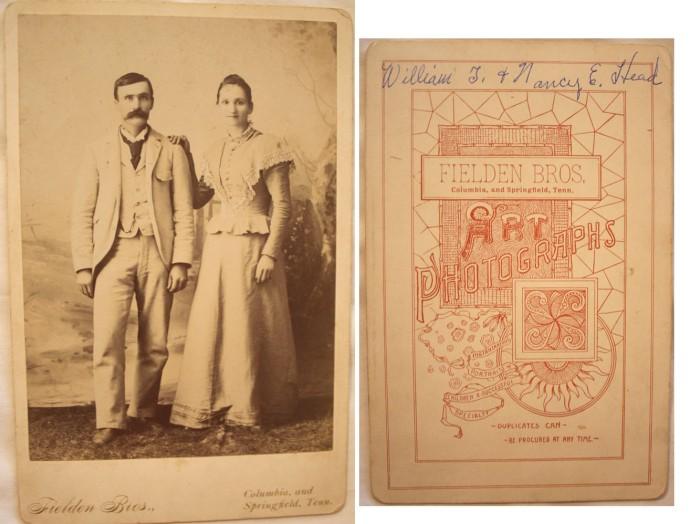 William T. & Nancy E. Head, Fielden Bros