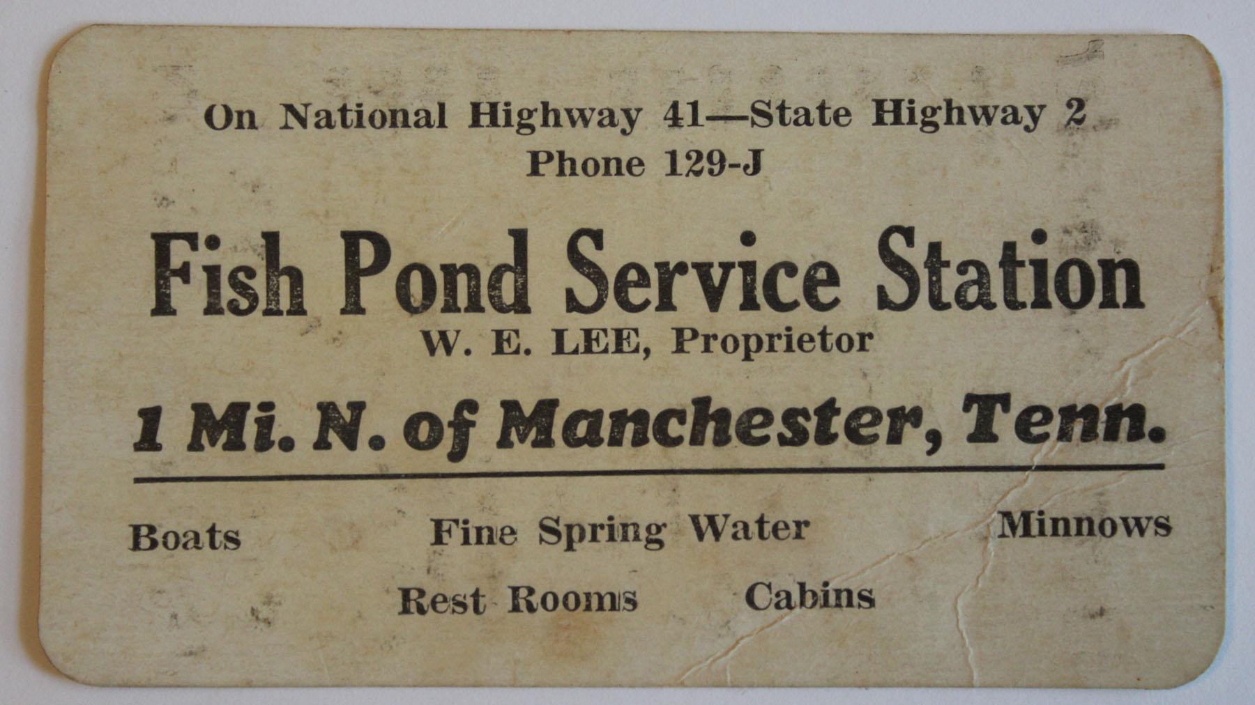 1940s Manchester, TN Post Cards & Business Cards | busybeetraveler