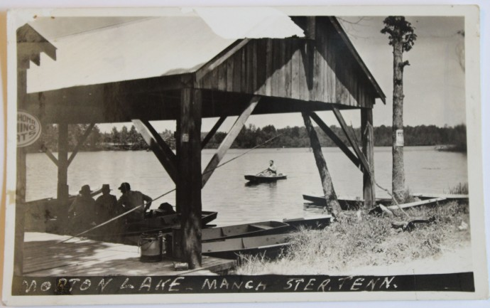 Morton Lake Post Card