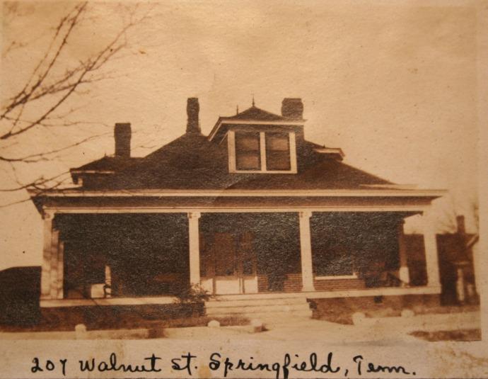 Head house, Walnut st front shot