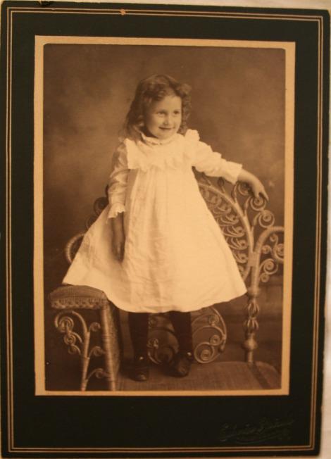 Rosa Elizabeth Head, little girl pic