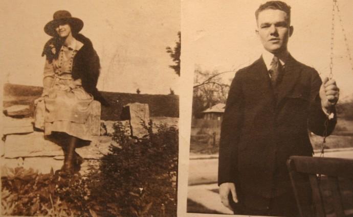 Rosa Elizabeth Head, Marshall Dennison, young