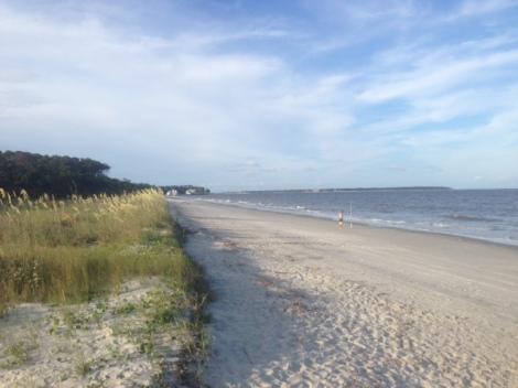 Daufuskie beach, sea oats