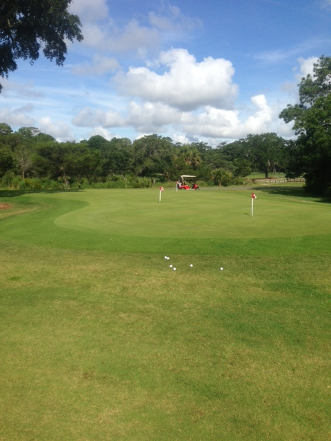 Daufuskie, Bloody Point golf green