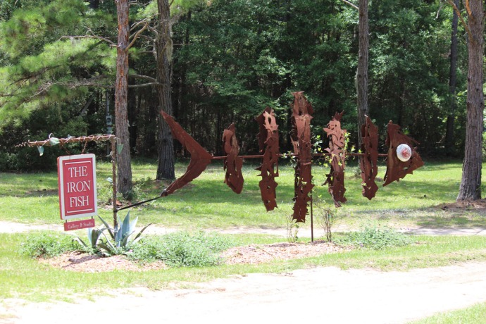 Daufuskie Iron Fish sign