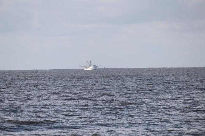 Daufuskie shrimp boat