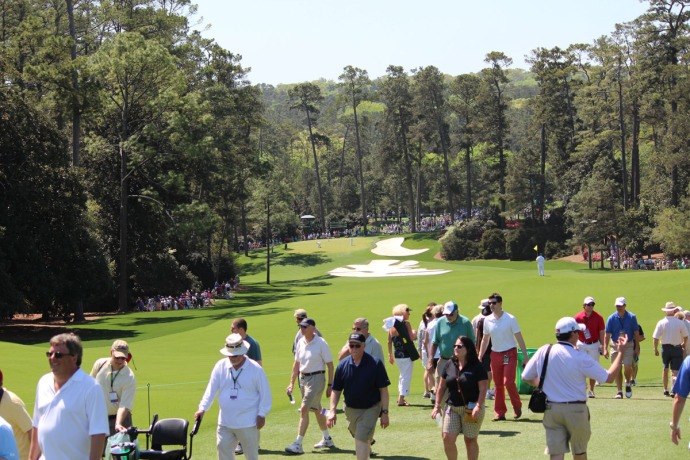 Masters crowd to pines