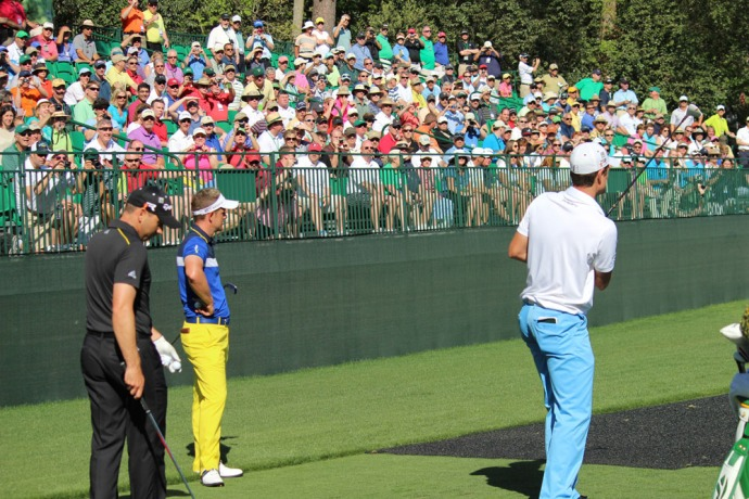 Masters grandstand