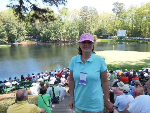 Monica at Masters