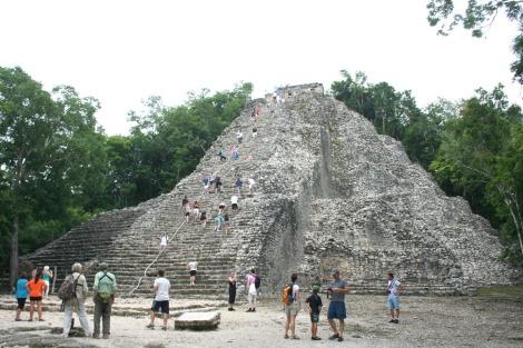 Coba, big pyramid