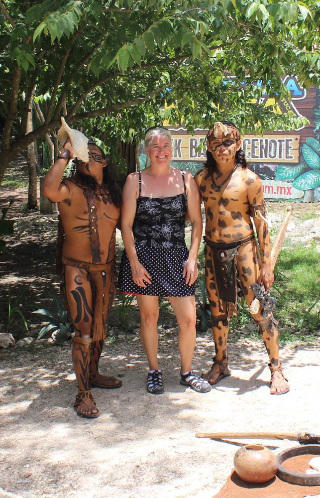 Ek Balam Jamie and maya warriors vert