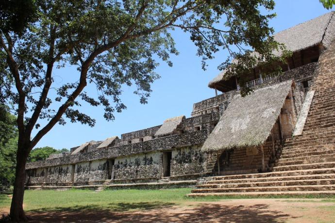 Ek Balam left side main temple
