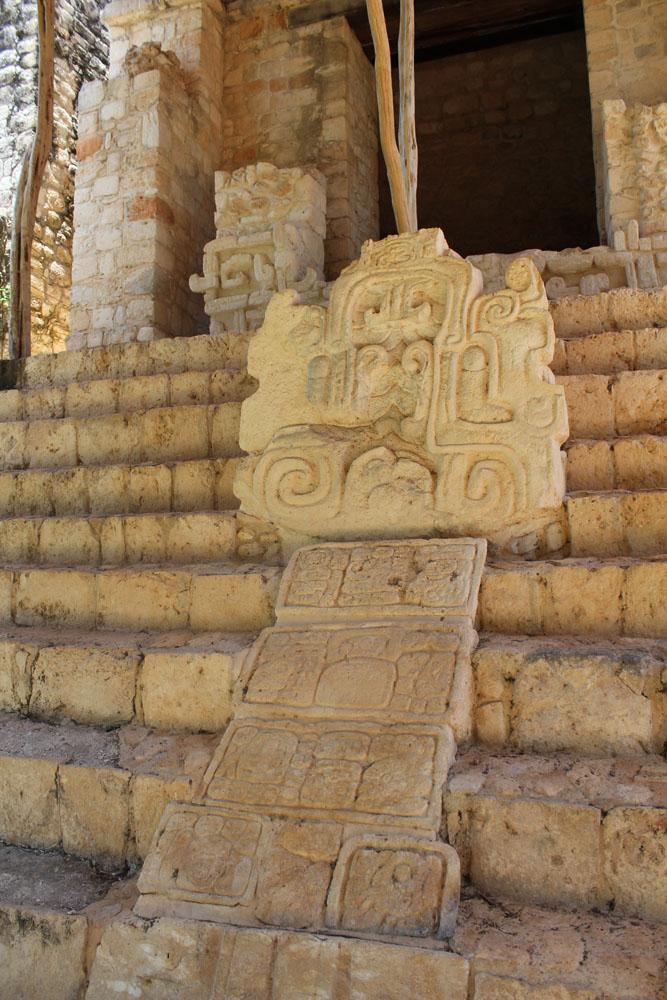 Ek Balam left stellae lower level temple