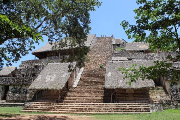 Ek Balam main temple center
