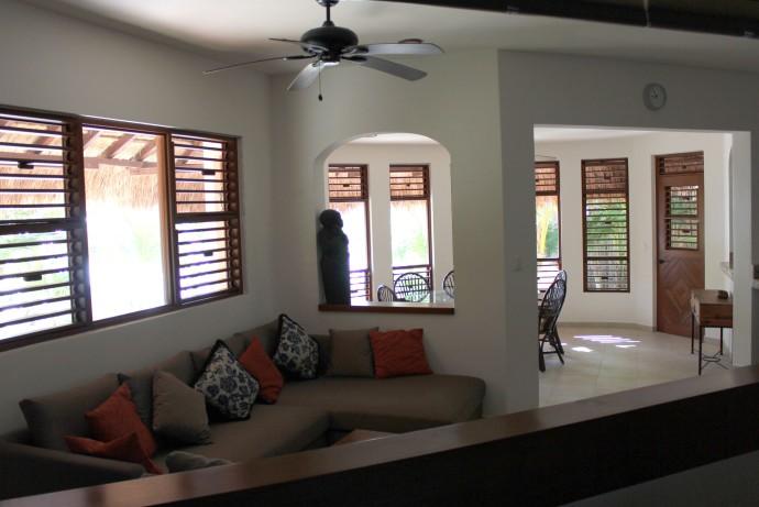 Nah Luum BR to dining door view