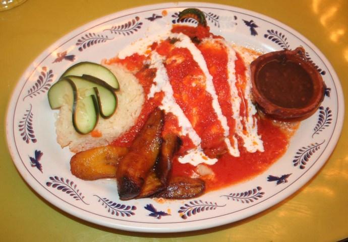 Oscar, food plate