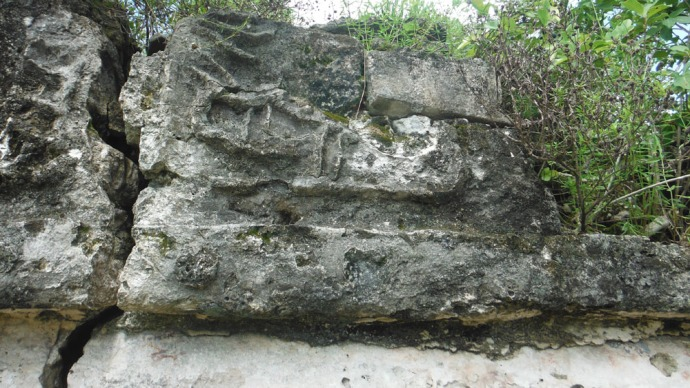 Sian Ka'an crocodile carving