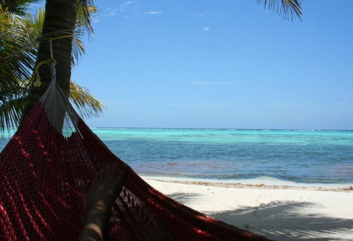 Soliman, hori hammock corner, water