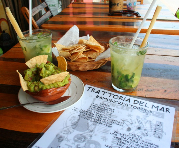 Tratt, guac and mojitos
