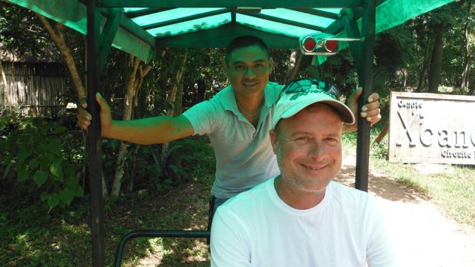 Xcanche Cenote Wally & driver