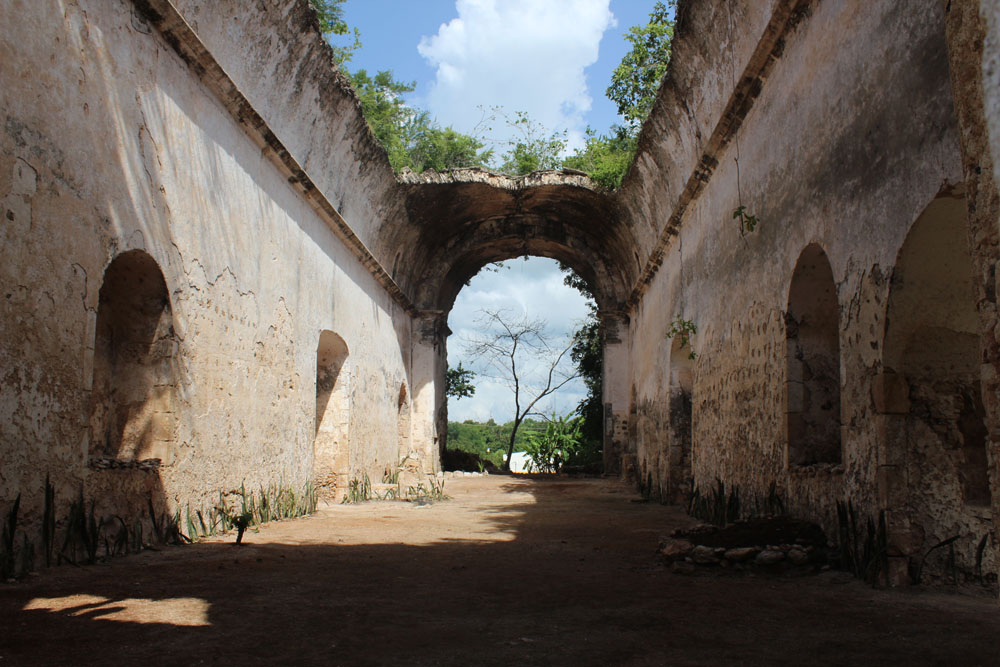 Rio Lagartos Mx Day 1 Colonial Church And Hotel Macumba