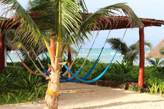 Maya Tulum hammocks