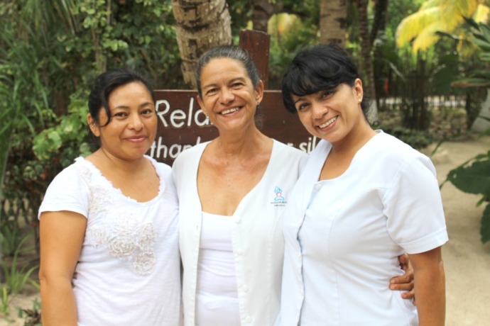 Maya Tulum massage girls