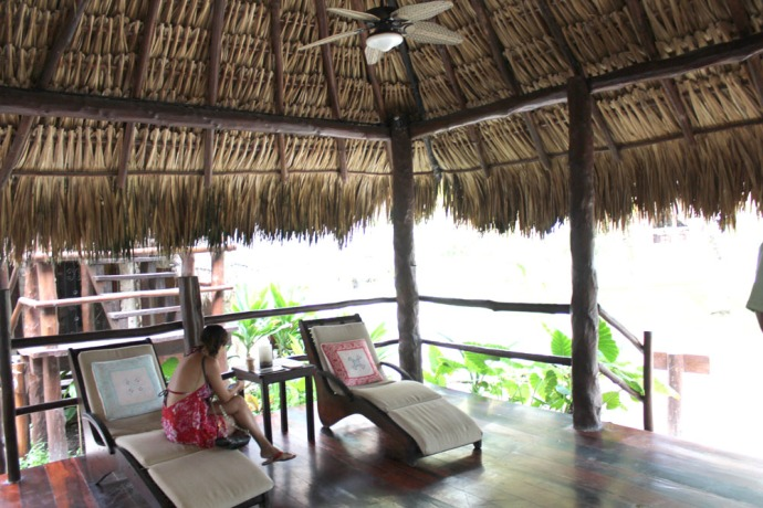 Maya Tulum spa interior