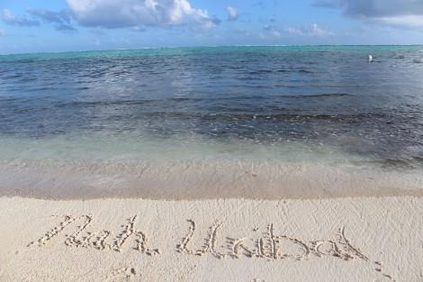 Nah Uxibal in sand