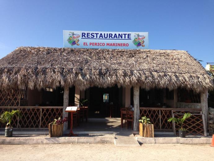 Rio Lagartos El Perico Marinero Restaurant ext