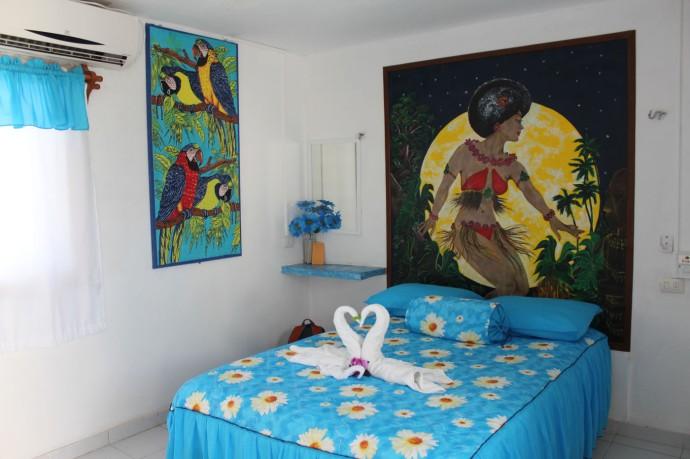 Rio Lagartos Macumba room